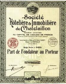 Sté Hôtelière et Immobilière de Chatelaillon