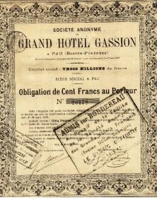 S.A. du Grand Hôtel Gassion
