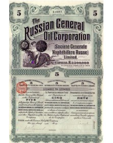 The Russian General Oil Corp. (Sté Générale Naphthifère Russe Ltd)