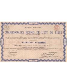 S.A. des Charbonnages Réunis de l'Est de Liège A Beyne-Heusay Lez-Liège