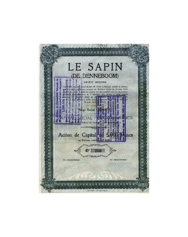 Le Sapin (De Denneboom)
