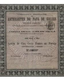 Cie Française des Anthracites du Pays de Galles