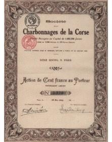 Sté des Charbonnages de la Corse