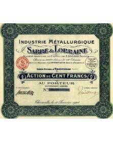 Industrie Métallurgique Sarre & Lorraine