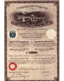 Cie Portugaise pour la Construction et l'Exploration des Chemins de Fer