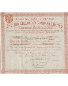 English Celluloid Company Ltd