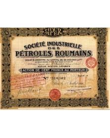 Sté Industrielle des Pétroles Roumains