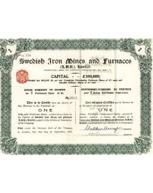 Swedish Iron Mines and Furnaces Ltd