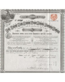 The Great San Anton Gold Mining Company, Ltd.