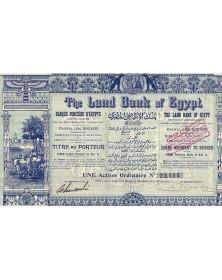 The Land Bank of Egypt. Banque Foncière d'Egypte