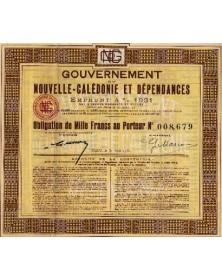 Gouvernement de la Nouvelle-Calédonie et Dépendances