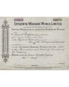 Effuenta (Wassaw) Mines, Ltd.