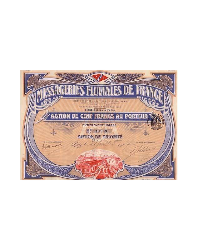 Messageries Fluviales de France