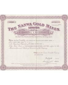 The Nanwa Gold Mines,Ltd.