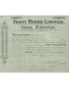Fanti Mines, Ltd.