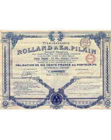 Ets Rolland & Em. Pilain (Automobile)