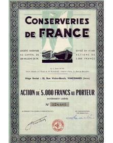 Conserveries de France
