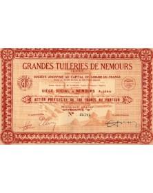 Grandes Tuileries de Nemours (Algeria)