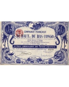 Cie Française du Haut & du Bas Congo