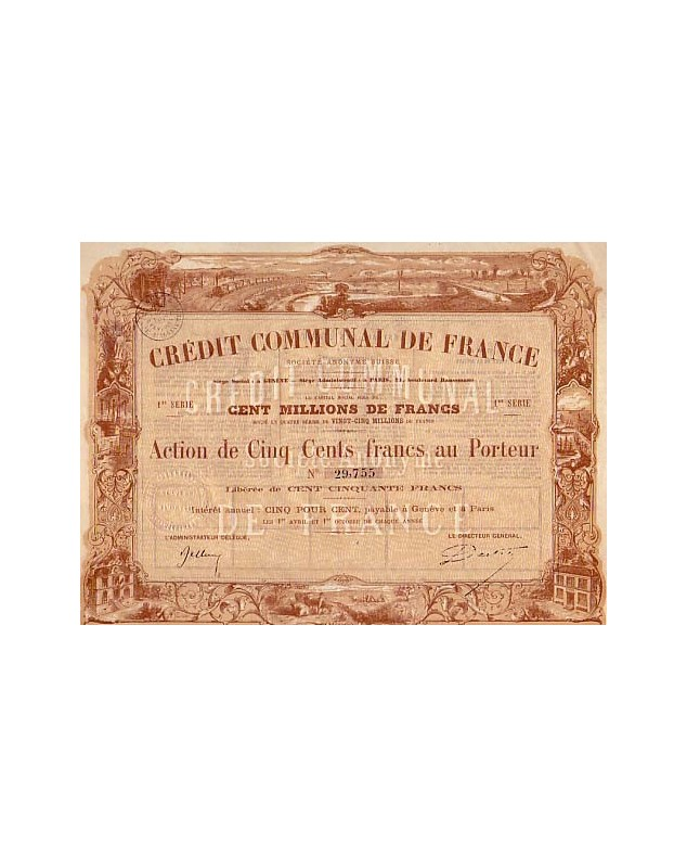 Crédit Communal de France, S.A. Suisse
