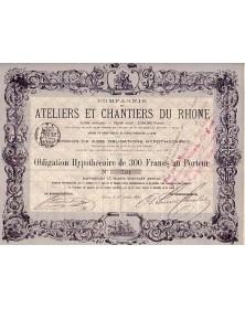 Cie des Ateliers et Chantiers du Rhone