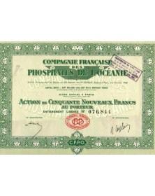 Cie Française des Phosphates de l'Océanie