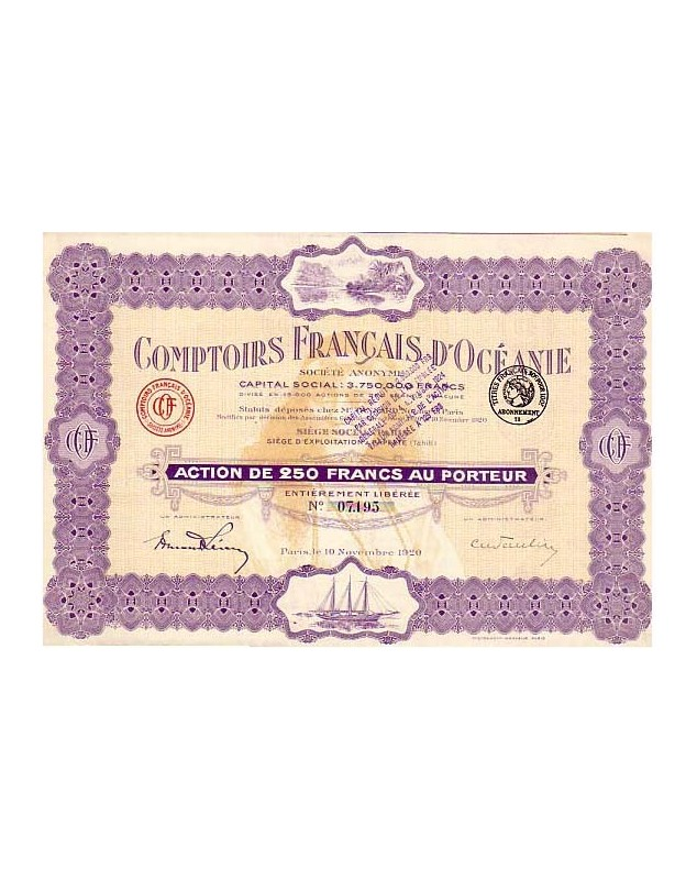 Comptoirs Français d'Océanie