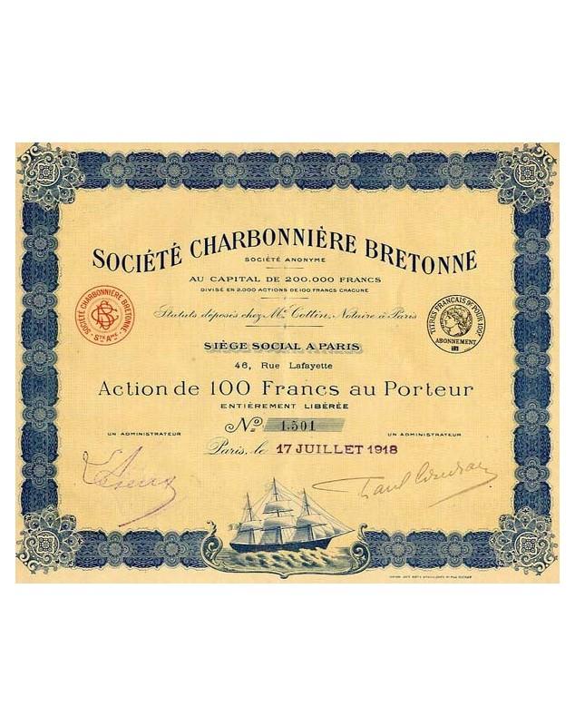 Sté Charbonnière Bretonne