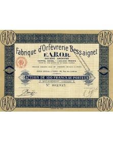 Fabrique d'Orfèvrerie Bessaignet F.A.B.O.R.