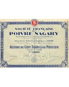 Sté Française du Poivre Sagary