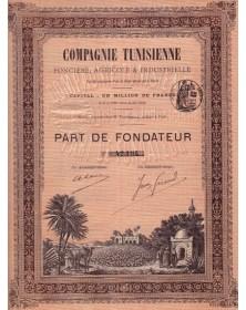 Cie Tunisienne Foncière, Agricole & Industrielle