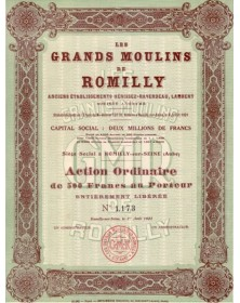 Les Grands Moulins de Romilly