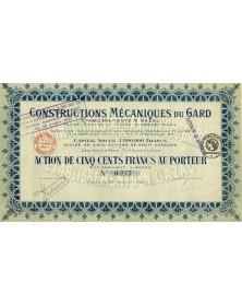 Constructions Mécaniques du Gard (Ets N. Gazal)