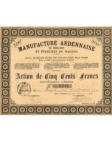 Manufacture Ardennaise de Boulons & Ferrures de Wagons