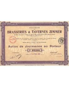 Sté des Brasseries & Tavernes Zimmer