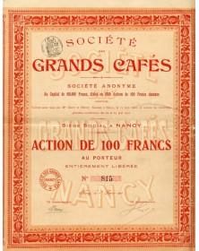 Sté des Grands Cafés