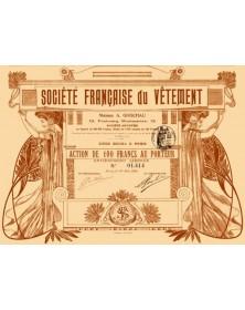 Sté Française du Vêtement - Maison A. Godchau - Fashion