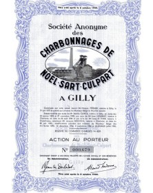 S.A. des Charbonnages de Noël-Sart-Culpart à Gilly