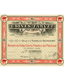 Usines Tanvez - Usine de la Tourelle