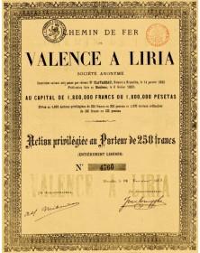 Chemin de Fer de Valence à Liria