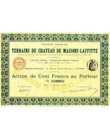 S.A. des Terrains du Château de Maisons-Laffitte