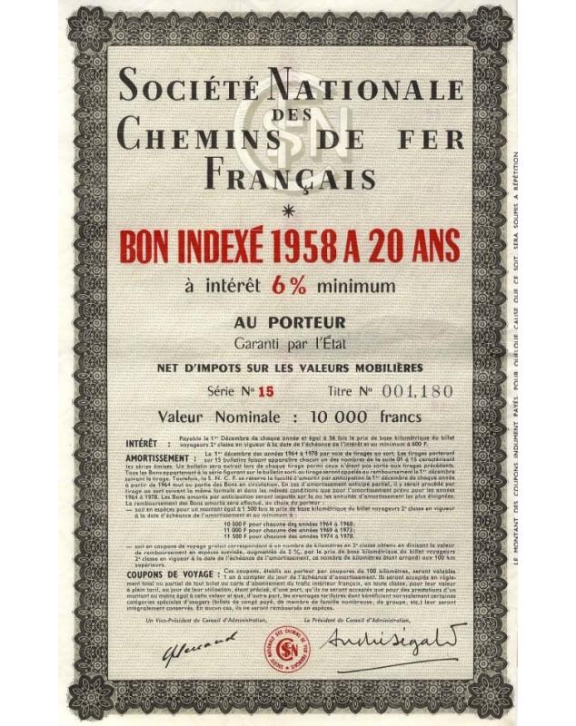 SNCF Sté Nationale des Chemins de Fer Français