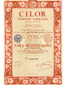 CILOR (Ciments Lorrains)