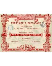 Périphote & Photorama (Brevets Lumière)