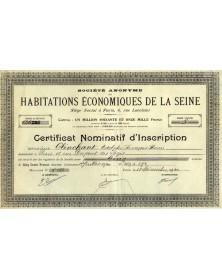 S.A. des Habitations Economiques de la Seine
