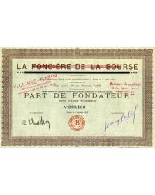 Village Cazin, ex. La Foncière de la Bourse