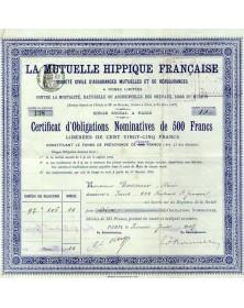 La Mutuelle Hippique Française