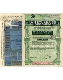 La Séquanaise Capitalisation pour favoriser l'Economie & l'Epargne