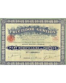 Fructidor-Gestion