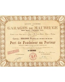 S.A. des Garages de Maubeuge (Place de la Grisoëlle)